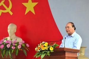 Thủ tướng dự lễ đón nhận xã đạt chuẩn nông thôn mới tại Quảng Nam