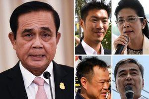 Những ứng viên hàng đầu cho chức Thủ tướng Thái Lan