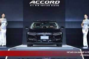 Honda Accord 2019 ra mắt thị trường Thái, có giá bán từ 1,1 tỷ đồng