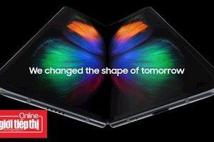 Thông tin mới về điện thoại màn hình gập Samsung Galaxy Fold