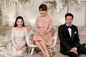 Công chúa Thái tới dự đám cưới của con gái ông Thaksin