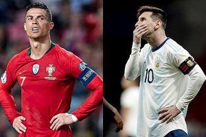 Messi, Ronaldo rủ nhau 'im hơi lặng tiếng' trong ngày trở lại ĐTQG