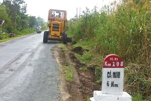 Dự án Cải tạo, nâng cấp Quốc lộ 63: Trĩu nặng công nợ