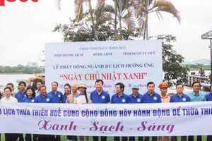 Ngành Du lịch Thừa Thiên Huế ra quân hưởng ứng 'Ngày chủ nhật xanh'