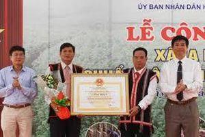 Gia Lai: Xã Ia Dêr đạt chuẩn nông thôn mới