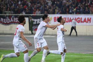 U23 Việt Nam giành chiến thắng nghẹt thở trước U23 Indonesia
