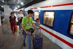 Đường sắt chạy thêm tàu phục vụ dịp lễ Giỗ Tổ Hùng Vương