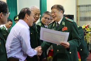 Gặp mặt kỷ niệm 65 năm Ngày Thành lập Đoàn Thanh Xuyên Công an nhân dân vũ trang
