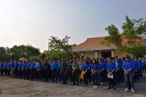 Đoàn viên - thanh niên tỉnh Bạc Liêu tham gia các hoạt động về nguồn