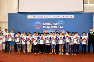 'Nghẹt thở' tại vòng đấu loại trực tiếp English Champion 2019