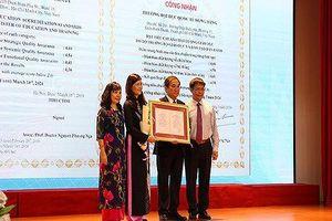 Trường Đại học Quốc tế Hồng Bàng đạt chuẩn kiểm định chất lượng giáo dục