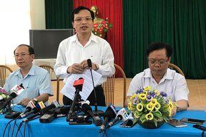 Tiêu cực thi cử tại Sơn La: Có thí sinh giảm 26,55 điểm