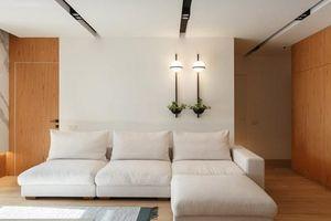Ngỡ ngàng căn hộ có thiết kế đơn giản nhưng tràn ngập ấm áp