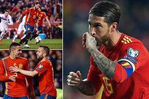 Sergio Ramos ghi bàn mạo hiểm, người Ý khởi đầu thành công