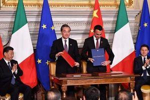Trung Quốc và Italy thúc đẩy xây dựng dự án 'Vành đai, Con đường'