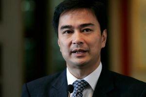 Thái Lan: Ông Abhisit Vejjajiva tuyên bố từ chức Chủ tịch đảng Dân chủ