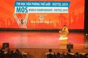 Hơn 1 nghìn thí sinh tham gia cuộc thi Tin học Văn phòng Thế giới 2019