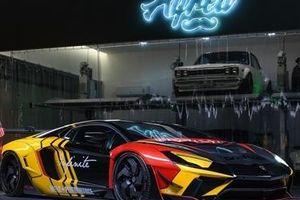 Chiêm ngưỡng chiếc Lamborghini Aventador được cho là 'lòe loẹt' nhất thế giới