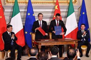 Italy gia nhập đại dự án 'Vành đai, Con đường' của Trung Quốc