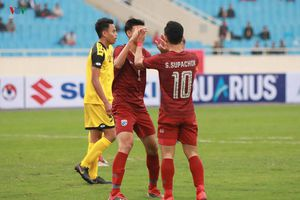 'Hủy diệt' U23 Brunei, U23 Thái Lan giành ngôi đầu từ U23 Việt Nam