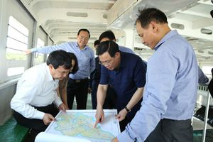 Phó thủ tướng yêu cầu đẩy nhanh tiến độ dự án cầu Đại Ngãi