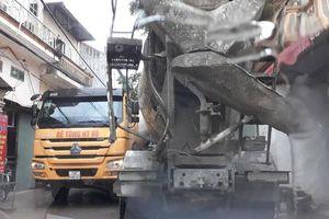 Xe tải nặng 'tra tấn' đường xã Lại Yên