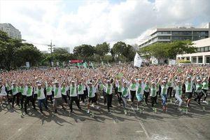 Herbalife ghi dấu năm thứ 4 đồng hành cùng ngày chạy Olympic toàn dân
