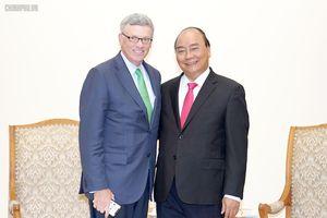 Thủ tướng tiếp Tập đoàn VISA, Hoa Kỳ
