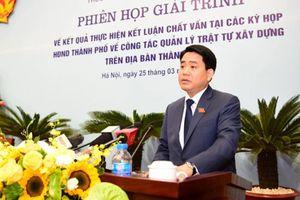 Chủ tịch Nguyễn Đức Chung nói gì về sai phạm đất đai ở Hà Nội?