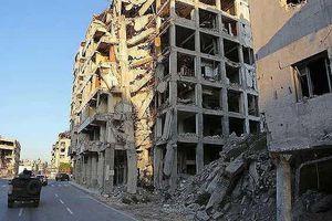 Syria: Quân nổi dậy nã pháo nghi chứa khí độc