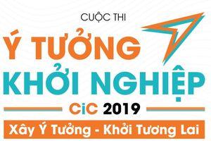 'Ý tưởng khởi nghiệp CiC 2019' hỗ trợ sinh viên, giảng viên