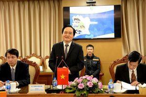 Bộ trưởng Phùng Xuân Nhạ tiếp đoàn Bờ Biển Ngà khảo sát, học tập kinh nghiệm phát triển giáo dục tại Việt Nam