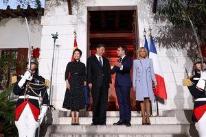 Tổng thống Pháp 'rất vui mừng chào đón' Chủ tịch Trung Quốc