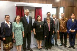 Tổng lãnh sự quán Singapore khánh thành văn phòng mới tại TP.HCM