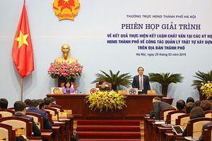 Hà Nội chuyển 10 dự án vi phạm sang cơ quan an ninh điều tra