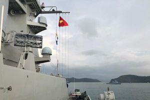Tàu 012- Lý Thái Tổ tới cảng Langkawi, bắt đầu tham dự LIMA 2019