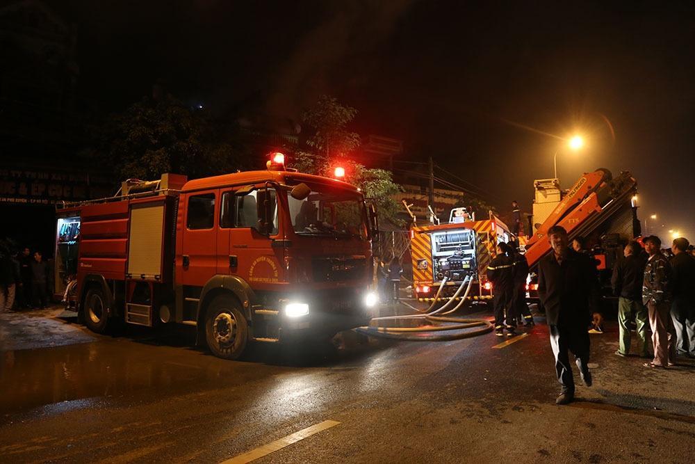 Hà Nội: Cháy lớn ở huyện Phú Xuyên, chủ nhà thiệt mạng
