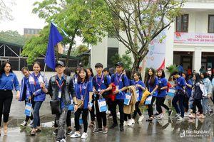 Hơn 1.000 học sinh tham gia chương trình trải nghiệm 'Một ngày làm sinh viên'