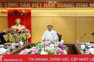 Quy hoạch phát triển kinh tế - xã hội Hà Tĩnh: Đảm bảo tăng trưởng xanh và phát triển bền vững