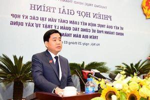 Chủ tịch Chung: Xử lý dứt điểm theo kết luận thanh tra đất rừng Sóc Sơn