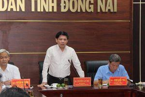 Bộ trưởng GTVT yêu cầu đẩy nhanh tiến độ GPMB sân bay Long Thành