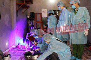 Vụ cô gái giao gà bị sát hại: Thu giữ nhiều mẫu sinh học đã khô tại nhà nghi phạm Bùi Văn Công