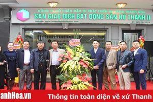 Khai trương Sàn Giao dịch Bất động sản Hồ Thành II