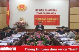 UBND tỉnh họp phiên thường kỳ tháng 3: Chủ động khắc phục khó khăn, thúc đẩy phát triển toàn diện các lĩnh vực kinh tế - xã hội