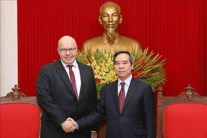 Tăng cường hợp tác Việt Nam - Đức về thương mại và đầu tư