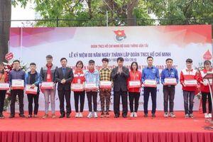 Hơn 500 đoàn viên ngành GTVT hiến máu vì nạn nhân TNGT