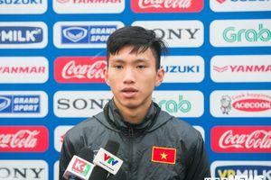 Văn Hậu: 'U23 Việt Nam muốn thắng Thái Lan để vượt vòng loại U23 châu Á'