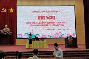 Sáng nay 26-3, tổ chức họp báo về hoạt động 'thỉnh vong', 'cúng oan gia trái chủ' tại chùa Ba Vàng