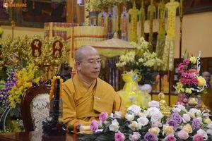 Đề xuất tạm đình chỉ mọi chức vụ của trụ trì chùa Ba Vàng trong GHPGVN