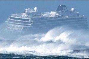Màn giải cứu ngoạn mục du thuyền chở hơn 1.300 người gặp nạn ở Nauy